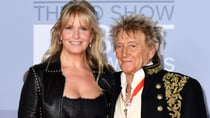 Rod and Penny, who tied the knot in 2007, coordinated their outfits on Tuesday. Source: Getty.