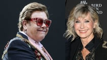 Elton John gave a shoutout to his friend Olivia Newton-John at his concert in Melbourne. Source: Getty
