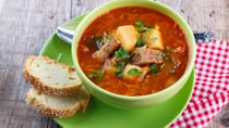 You can't go past a super-simple slow cooker soup recipe! Source: Getty.
