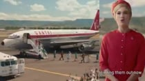 Qantas has released a new safety video in celebration of its upcoming 100-year anniversary. Source: Twitter/ Qantas