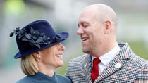 Zara and Mike Tindall looked the perfect pair as they stepped out for the Cheltenham Festival this week. Source: Getty