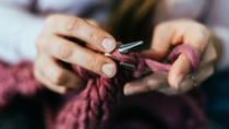 Knitting is just one of the crafts that is enjoying a resurgence among those in self-isolation. Source: Getty.