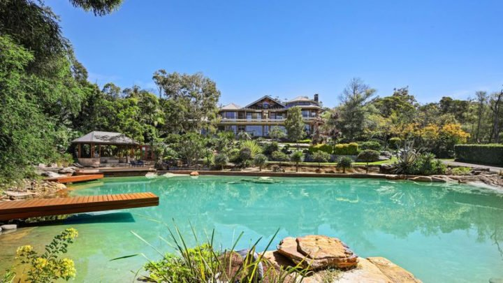 The Terrey Hills property is expected to sell for over $10 million. Source: Realestate.com.au