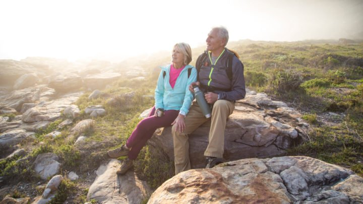 Experts have claimed relationships have a great impact on the amount of exercise seniors do. Source: Getty