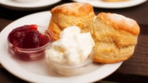 With just a few easy ingredients, these scones are absolutely delicious. Source: Getty.