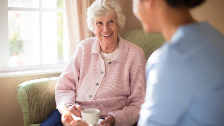 When it comes to discussing in-home care with a loved one, sooner is better. Source: Getty