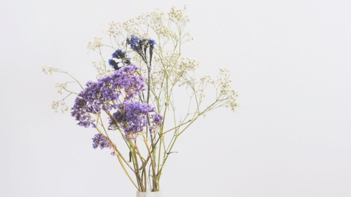 Dried flowers are back in fashion! Source: Getty.