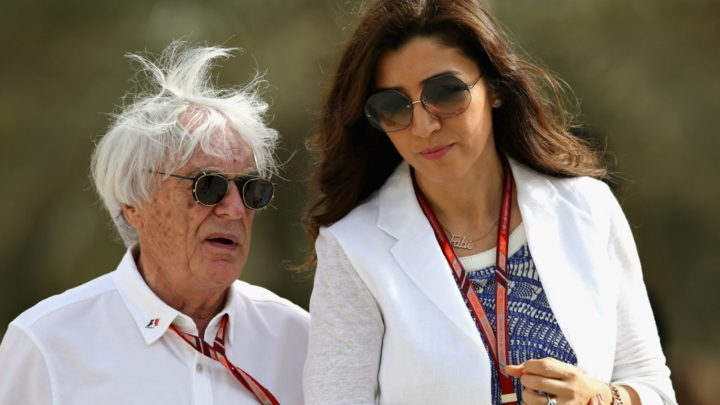 Bernie Ecclestone has been married to Fabiana Flosi since 2012. Source Getty