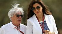 Bernie Ecclestone has been married to Fabiana Flosi since 2012. Source: Getty.