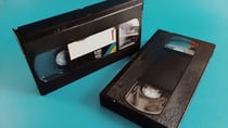 Video tapes hit their peak in the '80s. Source: Getty.