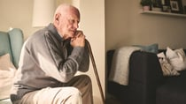 Being a grumpy old man isn't a normal part of ageing, it's a sign of mental health illness. Source: Getty