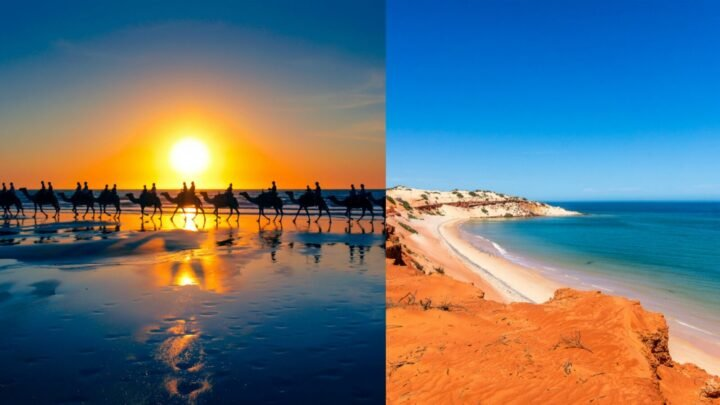 From the gorgeous Cable Beach sunsets, to whale spotting and  an incredible natural phenomenon, Broome is an ideal holiday destination. Source: Getty