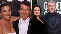 The couple met on a beach in Mexico in 1994, and tied the knot seven years later. Source: Pierce Brosnan- Facebook/Getty