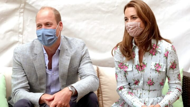 The Duke and Duchess of Cambridge visited the Shire Hall Care Home in Cardiff, Wales on Wednesday. Source: Getty.