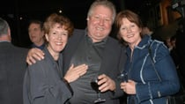 John Wood has been separated from his wife Leslie (right) for about seven years. Source: Getty.
