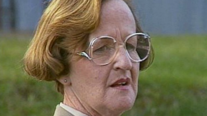Westmore played Joyce Barry in 'Prisoner'. Source: Twitter/TV Blackbox.