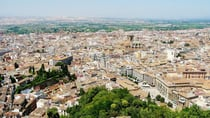 Bird's eye view of Granada, from the Alhambra Palace. Source: Liz Sier