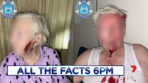 The elderly couple are currently undergoing treatment for their injuries. Source: 7 News Perth/Twitter.