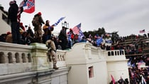 Trump's mob easily overwhelmed the too-few guards posted at the US Capitol Building last Wednesday. Source: Getty