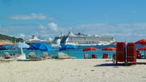Sint Maarten's cruise port. Source: Liz SIer
