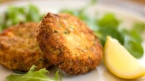 These crunchy patties are perfect for lunch or an easy dinner! Source: Getty.