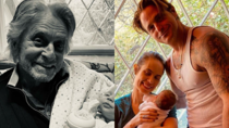 Michael Douglas' son Cameron became a father for the second time last month. Source: Michael Douglas/Instagram.