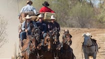 Experience a stagecoach ride on the old Longreach to Windorah mail route. Source: Supplied