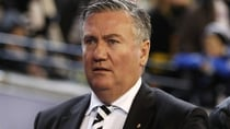 Eddie McGuire made the announcement in a press conference on Tuesday afternoon. Source: Getty.