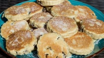 Tuck into these lovely little Welsh cakes for afternoon tea. Source: Getty