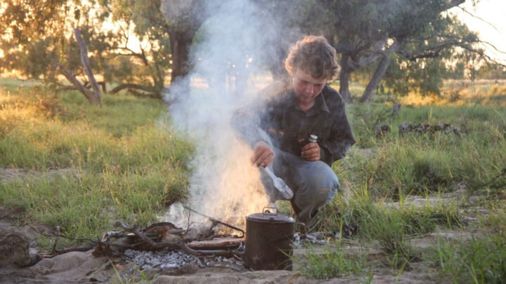 Even as a boy, Jeremy Kinnon knew how to keep a billy boiling - as well as many of the other time-honoured skills it takes to keep an outback station going.