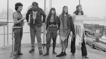 Students from the Fashion Institute of Technology in New York wearing a range of macrame designs. Source: Getty