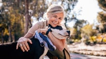 Feeling the effects of an empty nest? Adopting a senior pet can help fill the void. Source: Getty