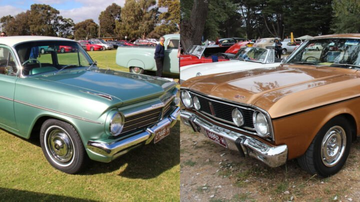 Cruising the streets in a Holden EH or a Ford Falcon XR was a right of passage for many Aussie Boomers. Source: WikipediaCommons
