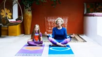Mindfulness activities (such as meditating) and even short bouts of low-intensity exercise can help if you are struggling with the mental aspect of ageing. Source: Getty