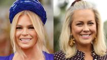Sonia Kruger and Sam Armytage stepped out for the Queen Elizabeth Stakes Day in Sydney at the weekend. Source: Getty