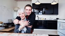 More time with the grandkids is often seen as one of the benefits of granny flats. Source: Getty