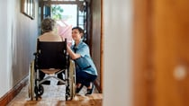 A leading aged care body has found that older Aussies may be missing out despite having the same conditions as those on the NDIS. Source: Getty