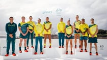 The Australian Olympic team's uniform for the Tokyo Games was unveiled on March 31. Source: Getty