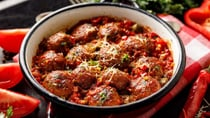 Cheesy and spicy! These meatballs are a good mix of flavours. Source: Getty Images