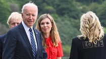 US President Joe Biden and his wife Jill pictured with UK Prime Minister Boris Johnson and his wife Carrie. Source: Getty