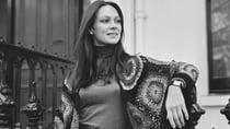 English actress Francesca Ann sporting a crochet shawl in 1970. Source: Getty