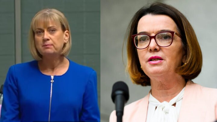 Labor MP Justine Elliot and Liberal Senator Anne Ruston have gone head to head over the welfare program. Source: Twitter/Getty