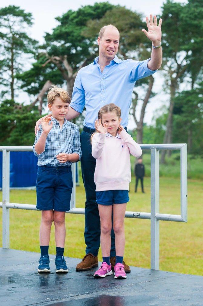 Prince George Prince William Princess Charlotte
