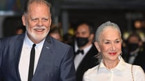 Helen Mirren and her husband Taylor Hackford were attending day two of the Cannes Film Festival. Source: Getty