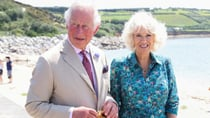 Princes Charles and Camilla pictured out and about during a visit to Isles of Scilly. Source: Getty