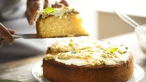 This sponge cake with passionfruit icing is so light, fluffy and easy to make! Source: Getty Images