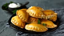 These curried vegetable hand pies are great for entertaining! Source: Getty Images