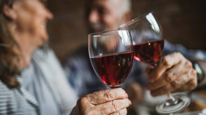 Many older Aussies are hitting the bottle harder than they should. Source: Getty