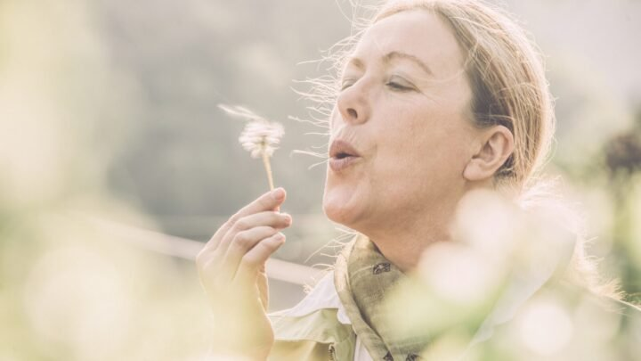 Julie writes about the allergies she's acquired in her 60s and how she's managing them. Source: Getty Images
