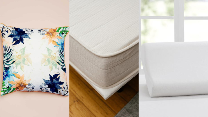 Transition your bedroom from winter to spring with these handy shopping tips. Source: Salsa Verde Designs, Peacelily and Sleepcraft